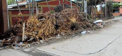 Basuras afectan a los vecinos de Villabel