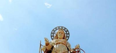 Virgen de la 'Cantera' vuelve a custodiar a los piedecuestanos