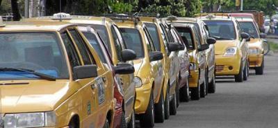 Desde hoy, mínima de taxi es a $4.400