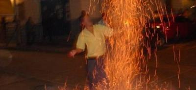 Tres quemados con pólvora dejaron las fiestas de fin de año en Santander