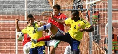 Colombia no pudo contra Chile