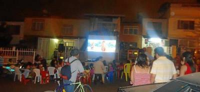 Policía Comunitaria hizo Jornada de Cine
