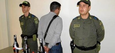 Capturan a un mexicano con cocaína en Palonegro