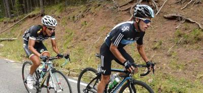 Sergio Luis Henao ganó en el País Vasco y es líder