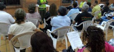 La Policía Nacional abrió nuevos espacios para la interacción con la comunidad mediante la Escuela de formación en Covivencia y Seguridad Ciudadana en esta localidad.