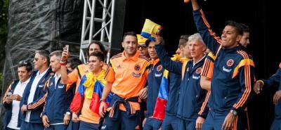Selección Colombia es cuarto en el escalafón de la Fifa