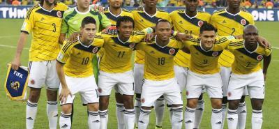 Según la consultora Pluri, Colombia fue avaluada antes del Mundial en 225,3 millones de euros, ahora vale 249,9 millones.