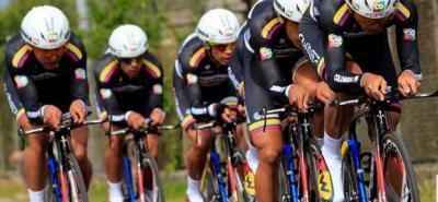 El Team Colombia, el de mayor categoría del ciclismo nacional, fue invitado a tomar parte de la Vuelta a España 2015.