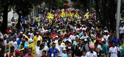 La movilización contó con la participación de aproximadamente 15 mil personas de las diferentes provincias de Santander, además estuvieron presentes comunidades del Magdalena Medio y el Catatumbo (Norte de Santander).