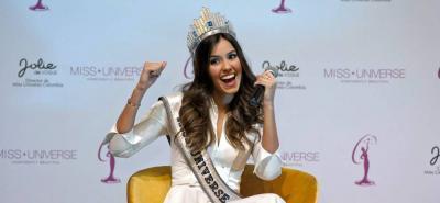 Paulina Vega dice que Miss Universo 2016 podría ser en Bogotá