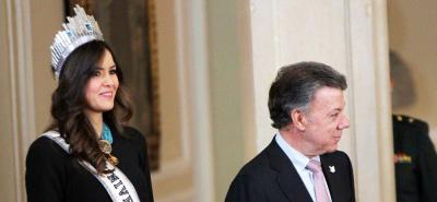 Miss Universo, Paulina Vega, será embajadora contra la desnutrición infantil