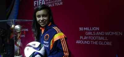 Yoreli Rincón Torres será una de las dos santandereanas que participarán en la Copa Mundial Femenina de la Fifa, que se desarrollará del 6 de junio al 5 de julio en Canadá.