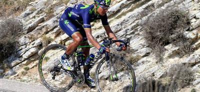 El ciclista colombiano Nairo Quintana viajó a Europa para disputar la Ruta del Sur, que será su última competencia antes de afrontar su máximo objetivo del año: el Tour de Francia.