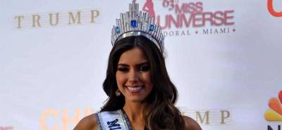 El Concurso Nacional de Belleza respalda a Paulina Vega Dieppa, Miss Universo