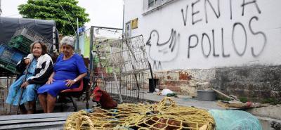 Los comerciantes de Asovesan instauraron ayer una acción de tutela para exigir el respeto a su derecho a un trabajo digno.