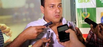 Jhon Abiud Ramírez, alcalde electo de Girón.