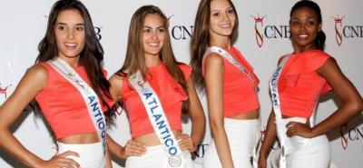 Las reinas de Colombia se enfrentaron a su primer encuentro con el jurado