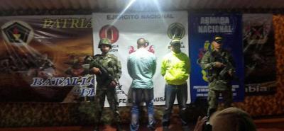 Capturado 'Mono Ánuar', cabecilla del Eln en el sur de Bolívar