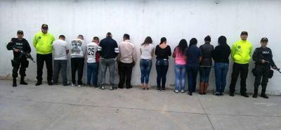 Capturan personas que apoyaban a extorsionistas recluídos en cárcel en Santander