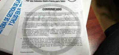Polémica por panfletos que anunciarían paro armado en Bucaramanga