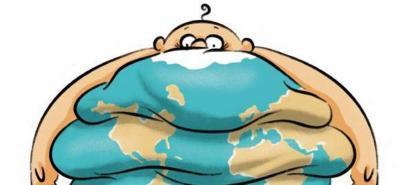 La poblacion mundial es mucho más obesa hoy