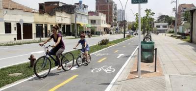 Este año se construirían tres kilómetros de ciclorruta en Bucaramanga