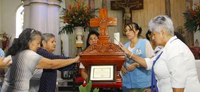 Las reliquias estuvieron en la Catedral de la Sagrada Familia y han pasado por varios sitios de fe del área metropolitana.