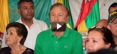 Alcalde de Bucaramanga Rodolfo Hernández respondió preguntas sobre su gobierno