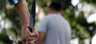 El herido con arma blanca es un menor  de 16 años.