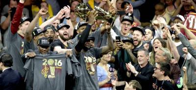 Los Cavaliers de Cleveland son los nuevos campeones de la NBA