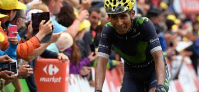 """""""Es un milagro que siga sobre la bicicleta"""": Nairo Quintana"""