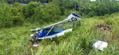 Avioneta sufre incidente al momento de aterrizar en Barrancabermeja