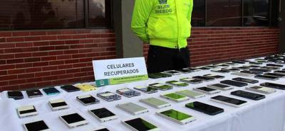 Siete capturados y 47 celulares recuperados en Bucaramanga tras allanamientos