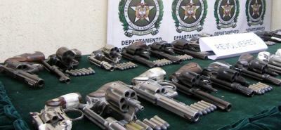 Detalles del robo de 19 revólveres y 3  pistolas que pertenecían a Tránsito de Bucaramanga
