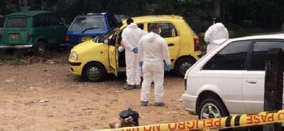 Asesinan a un taxista en Floridablanca por robarlo
