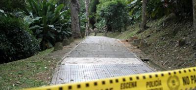 El asesinato ocurrió dentro de las instalaciones del Parque La Flora, en Bucaramanga.