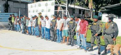 Durante el mes de junio se llevó a cabo la captura de otros seis integrantes de esta banda criminal.