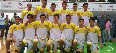 Esta es el equipo de Búcaros, categoría sub 15, que ocupó el tercer lugar en el Campeonato Nacional Interligas e Interclubes que se desarrolló en Cartagena.