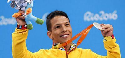 Nelson Crispín Corzo logró ayer su tercera medalla de plata en los Juegos Paralímpicos de Río 2016, al terminar segundo en la prueba de los 100 metros libres en categoría S6.