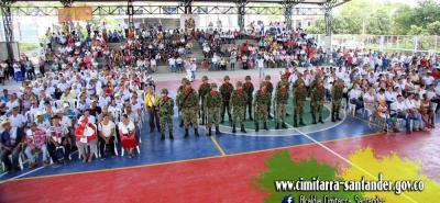 Con la asistencia de una grupo de habitantes, tanto del sector rural como urbano, se inauguró en Cimitarra el Centro de Integración Ciudadana.