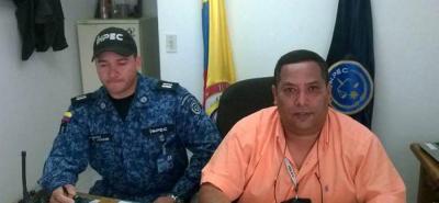 El director de la cárcel de Vélez, capitán retirado Miguel Lemus Lemus.