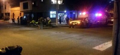 El asesinato ocurrió el domingo, a las 8:00 de la noche, en la carrera 21 con calle 8 del barrio Comuneros, en el Norte de la ciudad.