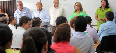 La revisión de matrículas y rutas escolares para 2017 es uno de los anuncios de la secretaria de Educación de Santander, Ana de Dios Tarazona.