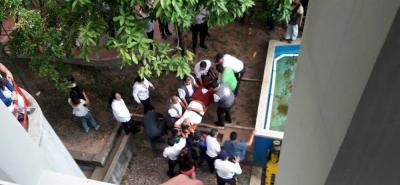 Estudiante cayó de un cuarto piso en universidad de Bucaramanga