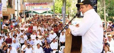 En el municipio de San Benito se firmó un convenio para la construcción de acueductos para llevar agua potable a habitantes de cinco veredas.