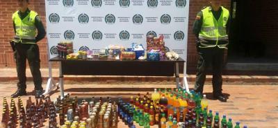 Las autoridades de Policía decomisaron varios productos exhibidos al público con las fechas vencidas. Los operativos se realizaron en el sector de La Terminal.