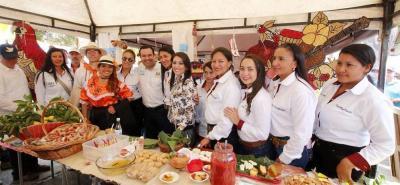 Durante dos días los habitantes de los 19 municipios que hacen parte de la provincia de Vélez pudieron degustar de los platos típicos de esta región.