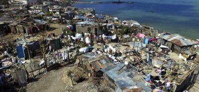 "Damnificados por huracán en Haití viven en condiciones ""inhumanas"""