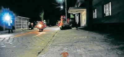 El atentado ocurrió en inmediaciones de la calle 33 con carrera 65, de La Floresta.
