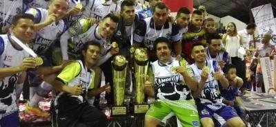 Taz Santander se coronó bicampeón del microfútbol colombiano